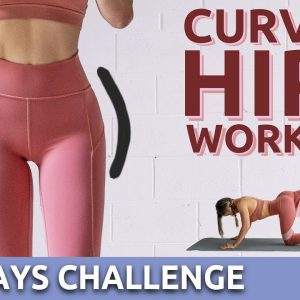 10 Mins Side Booty Wider Hips Workout | Get Rid of Hip Dips