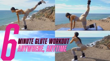 6 MINUTE GLUTE BURNING WORKOUT   ANYTIME ANYWHERE   JEN SELTER