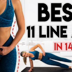 BEST 11 LINE ABS (2021) | Lose Fat in 14 Days | 8 minute Workout