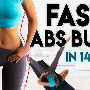 FAST ABS BURN in 14 Days | 5 minute Home Workout