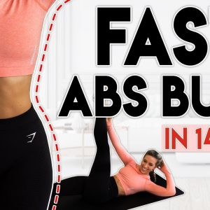FAST ABS BURN in 14 Days (lose belly fat) | 5 minute Home Workout