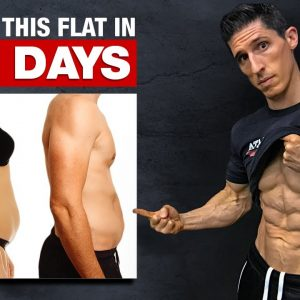 """Get a """"Flat Stomach� in 22 Days! (HOME WORKOUT)"""