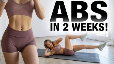 Get Abs in 2 WEEKS   Abs Workout Challenge