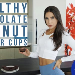 HEALTHY PEANUT BUTTER CUPS | IN THE KITCHEN WITH JEN | JEN SELTER