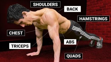 How to Hit EVERY Muscle with a Pushup! (TOTAL BODY)