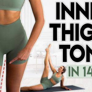 INNER THIGHS TONE in 14 Days | 6 minute Home Workout