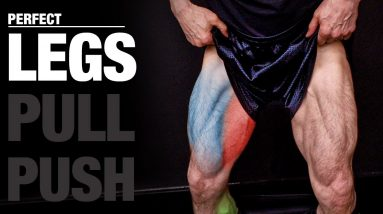 The PERFECT Legs Workout (PUSH   PULL   LEGS)