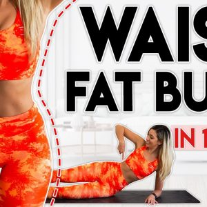 TIGHT TONED WAIST in 14 Days (burn fat) | 5 minute Home Workout