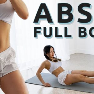 Total ABS & Full Body Workout 20 Min | No Jumping Included