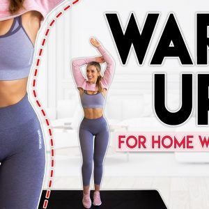 WARM UP BEFORE YOUR WORKOUT (full body routine) | 5 minutes