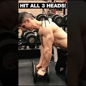 """World's """"FASTEST"""" Shoulder Workout (HIT ALL 3 HEADS!) #shorts"""