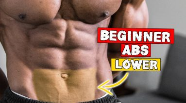 10 MINUTE BEGINNER LOWER ABS WORKOUT AT HOME (NO EQUIPMENT) | LEVEL 1