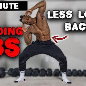 10 MINUTE BEGINNER STANDING ABS (NO EQUIPMENT) | USE LESS LOWER BACK!