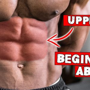 10 MINUTE BEGINNER UPPER ABS WORKOUT AT HOME (NO EQUIPMENT) | LEVEL 1