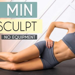 12 MIN ABS + HIIT Workout - Toned Tummy, No Equipment