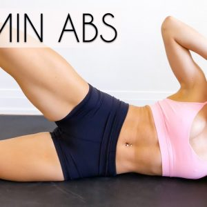 15 MIN AB WORKOUT (Total Core, No Equipment, At Home)
