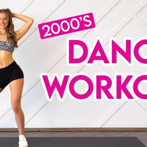 15 MIN DANCE PARTY WORKOUT - 2000's hits part 2 (Full Body/No Equipment)