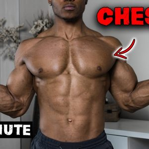 15 MINUTE DUMBBELL CHEST WORKOUT AT HOME | NO BENCH NEEDED!