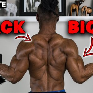 30 MINUTE BACK AND BICEP WORKOUT AT HOME (DUMBBELLS ONLY!) - DAY 2