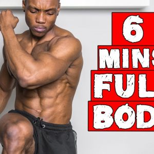 6 MINUTE FAT BURNING FULL BODY WORKOUT | DAY 19-21 (NO EQUIPMENT)