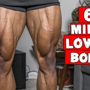 6 MINUTE FAT BURNING LOWER BODY WORKOUT | DAY 25-27 (NO EQUIPMENT)