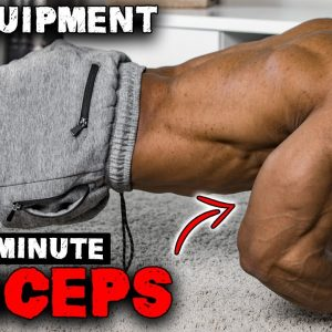6 MINUTE TRICEP WORKOUT | NO EQUIPMENT NEEDED!