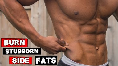 AB WORKOUT FOR LOVE HANDLES   BURN STUBBORN SIDE FAT!