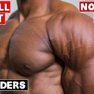 BARBELL CHEST AND SHOULDER WORKOUT AT HOME | NO BENCH OR RACK NEEDED!
