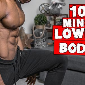 BEGINNER 10 MINUTE LOWER BODY WORKOUT TO BURN FAT | DAY 7-9 (NO EQUIPMENT)