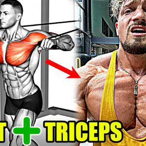CHEST & TRICEPS   TRY THIS MASS BUILDING WORKOUT!