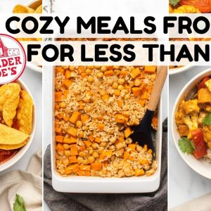 Cozy Meals from Trader Joes for Under $3 (Vegan)