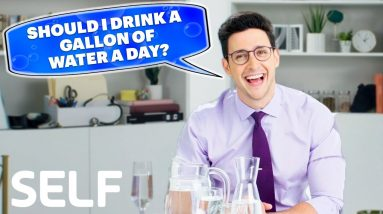 Doctor Mike Answers: How Much Water Should You Drink a Day?   SELF