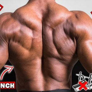 DUMBBELL BACK WORKOUT AT HOME | NO BENCH NEEDED!