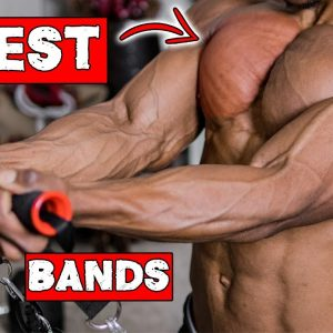 FULL CHEST WORKOUT AT HOME WITH RESISTANCE BAND ONLY!