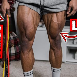 FULL LEG WORKOUT AT HOME WITH RESISTANCE BAND ONLY!
