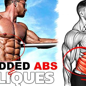 Get Perfect ABS at Home with Effective Workout!