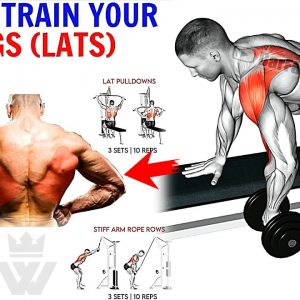 How To Train Your Wide Lats (10 Exercise for Big Back!)