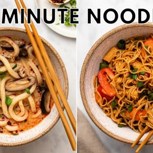 MUST TRY Asian-Inspired Noodle Recipes 😛