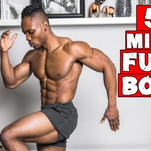 QUICK 5 MINUTE FULL BODY WORKOUT NO BREAKS! | DAY 28-30 (NO EQUIPMENT)