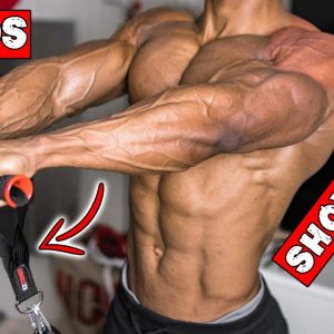 SHOULDER WORKOUT AT HOME WITH RESISTANCE BAND ONLY!