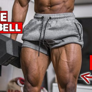 SINGLE DUMBBELL LEG WORKOUT AT HOME | WORKOUT WITH ONLY ONE DUMBBELL!