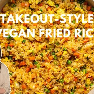 The BEST Vegan Takeout-Style Fried Rice