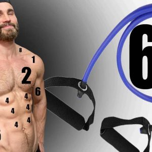 THE COMPLETE RESISTANCE BAND EXERCISE GUIDE - NO ATTACHING