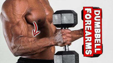 TRAIN YOUR FOREARM WITH DUMBBELLS ONLY!