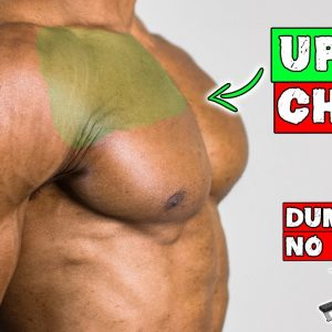 UPPER CHEST DUMBBELL EXERCISES YOU CAN DO WITH NO BENCH
