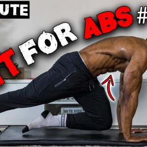 20 MINUTE HIIT FOR ABS | HOME WORKOUT TO REDUCE BELLY FAT | LEVEL 1 (NO EQUIPMENT)
