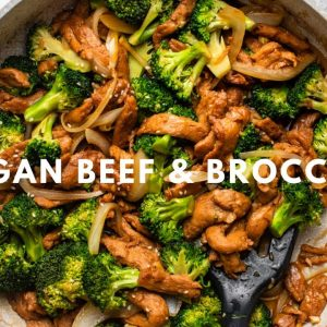 """Vegan """"Beef"""" & Broccoli that's BETTER Than Takeout!"""