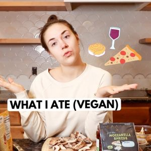 What I Ate as a Vegan | Super Chill Edition