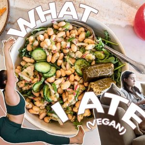 What I Ate Today + My Exercise Routine!