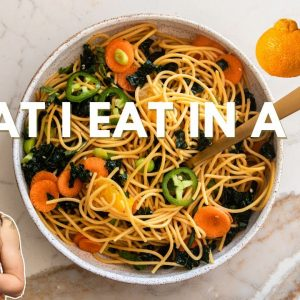 What I Eat in a Day | Citrus-Infused Recipes!